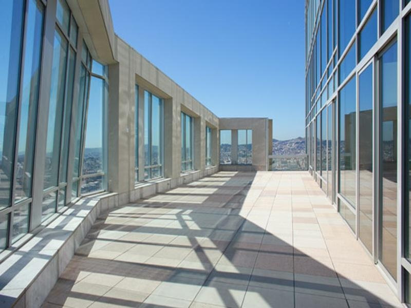 gigantic private terrace The Craziest Penthouse in San Francisco