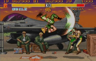 guile flash kick Did You Know? Guile Theme Goes with Everything