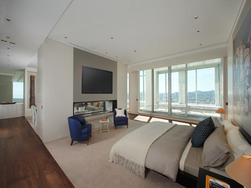 insane master bedroom The Craziest Penthouse in San Francisco