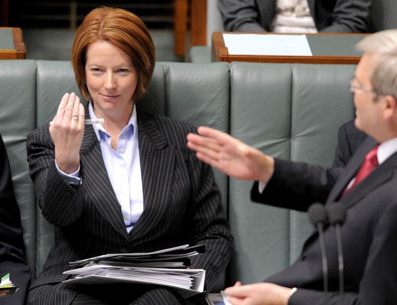 julia gillard first femal prime minister in australia Picture of the Day   June 24, 2010