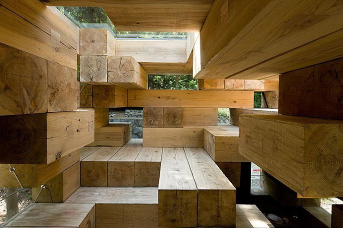 sou fujimoto architect japan Remember Jenga? This is the House Version of It