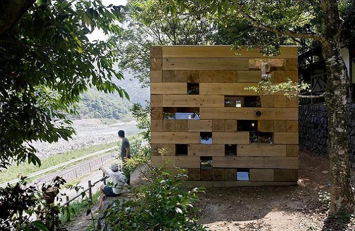 sou fujimoto design Remember Jenga? This is the House Version of It