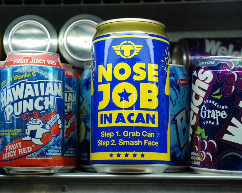 trustocorp nose job in a can Signs of the Times by Trusto Corp