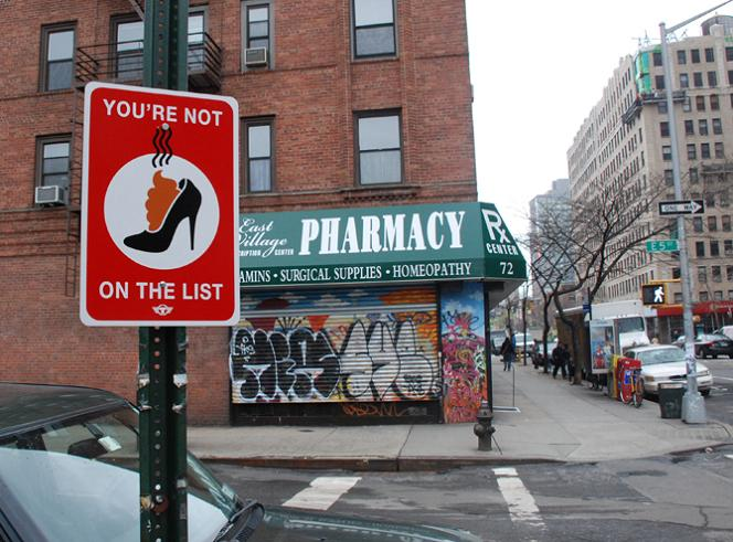 you are not on the list Signs of the Times by Trusto Corp