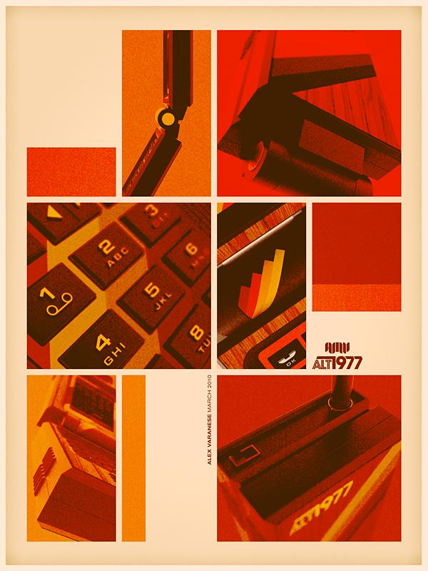 70s style graphic design Back to the Future: Retro 70s Ads for Todays Gadgets