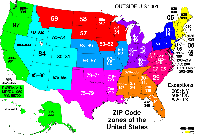 all zip codes in the united states 5 Buildings So Big They Have Their Own ZIP Code!