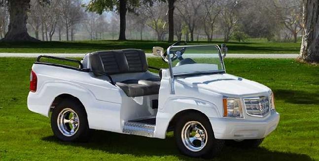customized cadillac escalade golf cart Top 10 Customized Luxury Golf Carts