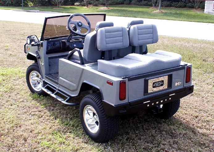 customized hummer golf cart Top 10 Customized Luxury Golf Carts