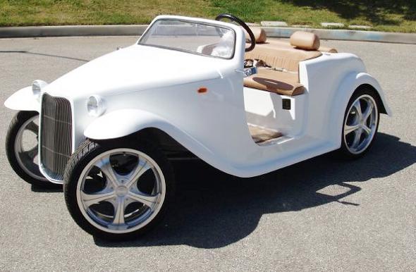 customized vintage golf cart Top 10 Customized Luxury Golf Carts