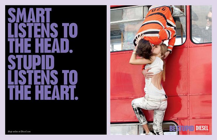 diesel stupid smart print ad This Diesel Ad Campaign is REALLY Stupid [21 Pics]