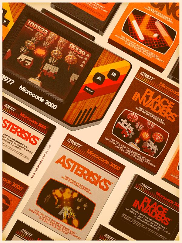 digital art by alex varanese Back to the Future: Retro 70s Ads for Todays Gadgets