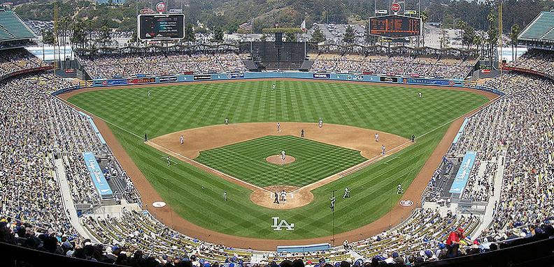 dodger stadium panoramic 5 Buildings So Big They Have Their Own ZIP Code!