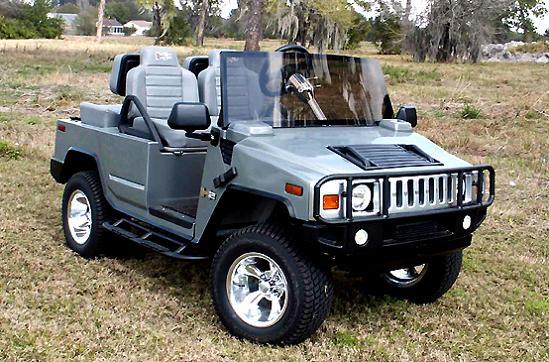 hummer golf cart Top 10 Customized Luxury Golf Carts
