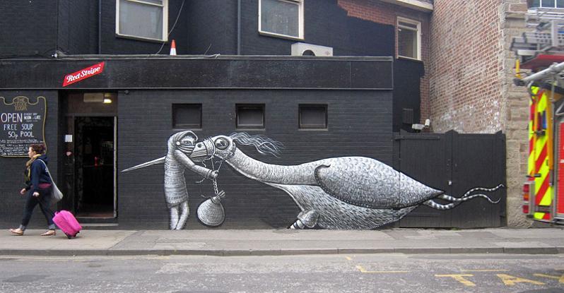 illustration phlegm Incredible Street Art Illustrations by Phlegm