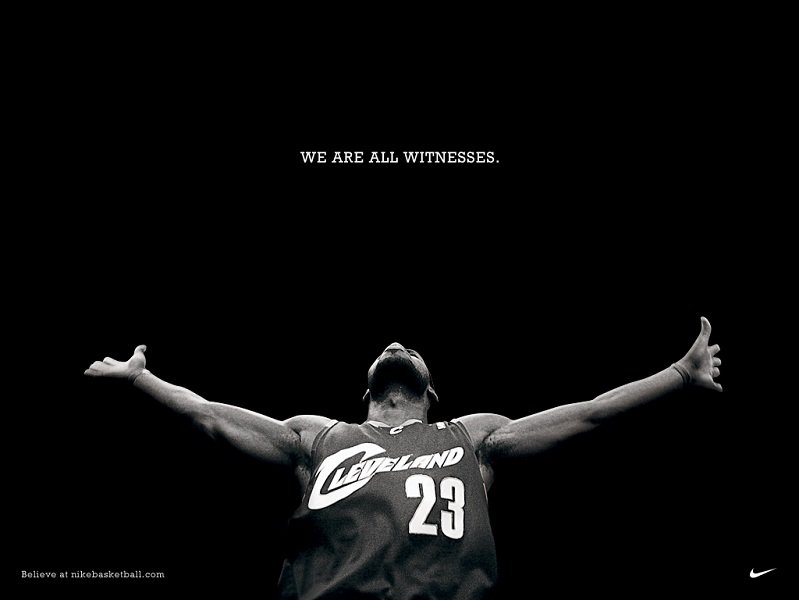 lebron james witness nike Picture of the Day   July 8, 2010