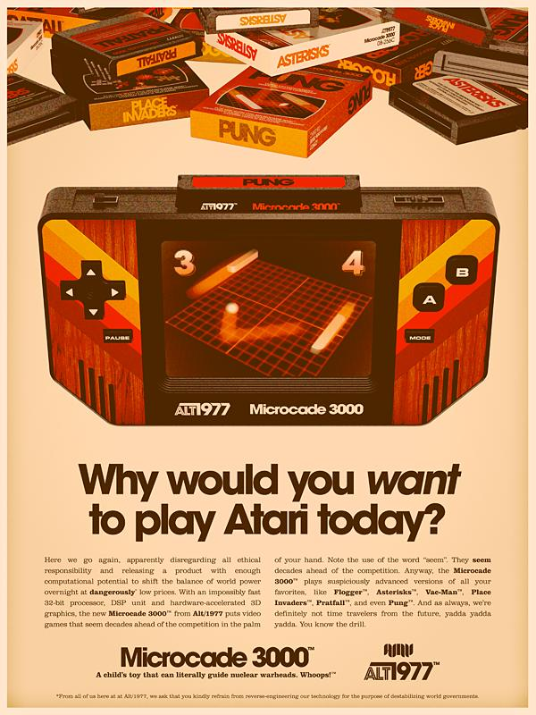 retro 70s style ad Back to the Future: Retro 70s Ads for Todays Gadgets