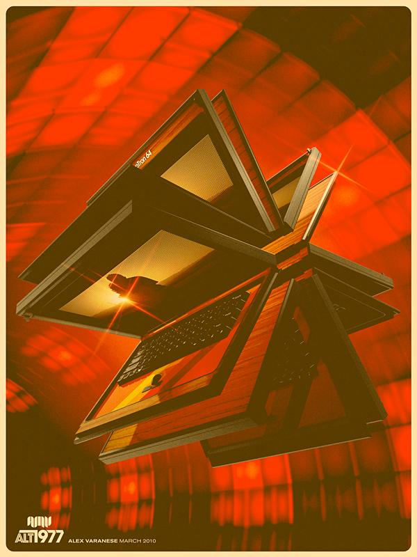 retro ad by alex varanese Back to the Future: Retro 70s Ads for Todays Gadgets