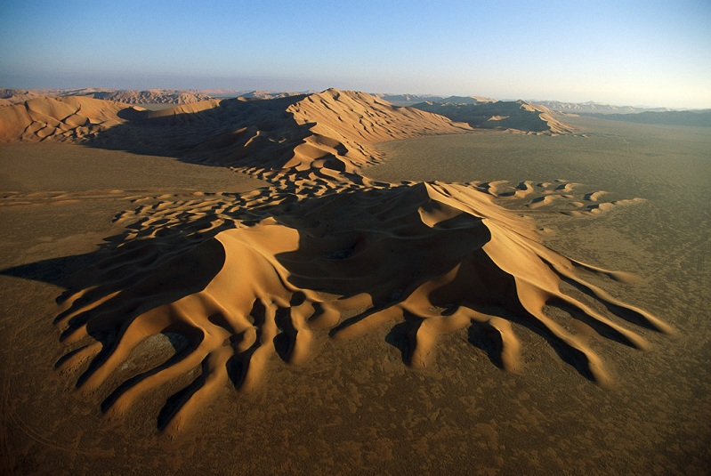 sand dunes rub al khali middle east desert Picture of the Day   July 14, 2010