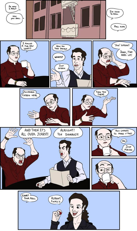 seinfeld comic strip Thats How I Roll [Comic Strip]