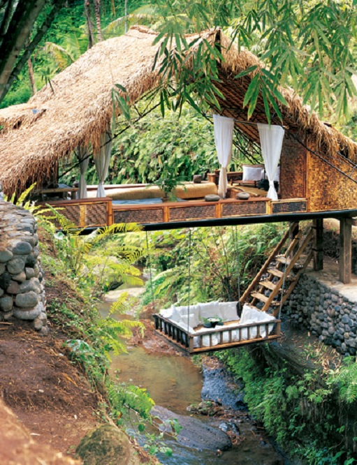 the coolest outdoor treehouse hut set up ever Picture of the Day   Nirvana