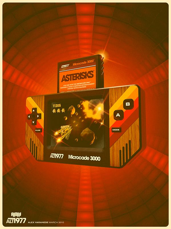 vintage gaming system ad 70s alex varanese Back to the Future: Retro 70s Ads for Todays Gadgets