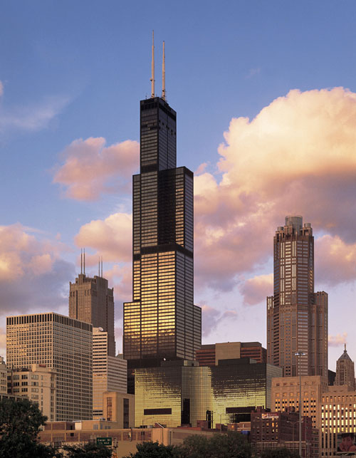 willis sears tower 5 Buildings So Big They Have Their Own ZIP Code!