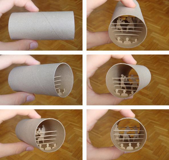 4 anastassia elias art Beautiful Miniature Paper Art Scenes [30 pics]