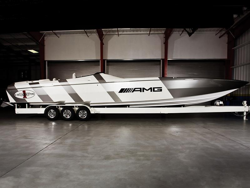 46 foot mercedes cigarette boat $1.2 Million 1,350 HP Mercedes Benz SLS AMG Cigarette Boat