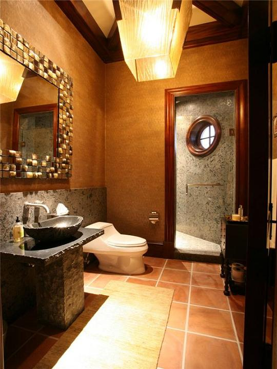 amazing bathroom interior design The $60 Million Mansion on the Ocean: Castillo Caribe, Cayman Islands