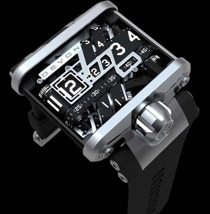 belt driven watch tread 1 A Watch Like Youve Never Seen: Tread 1 by Devon