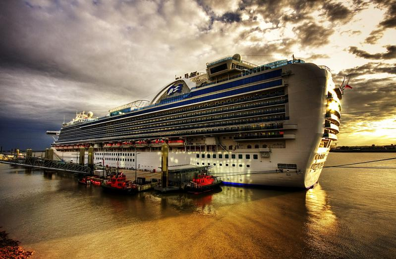 crown princess cruise ship Picture of the Day   The Crown Jewel