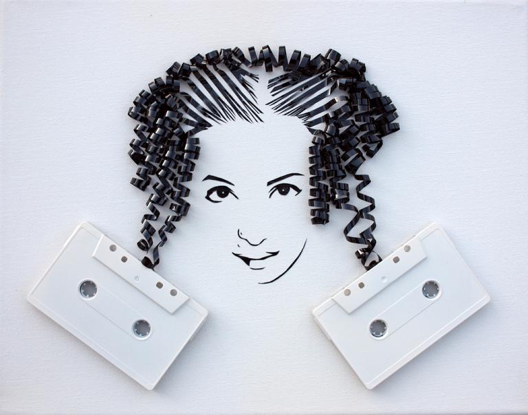 erika iris simmons artist Unbelievable Tape Art by Erika Iris Simmons [15 Pics]