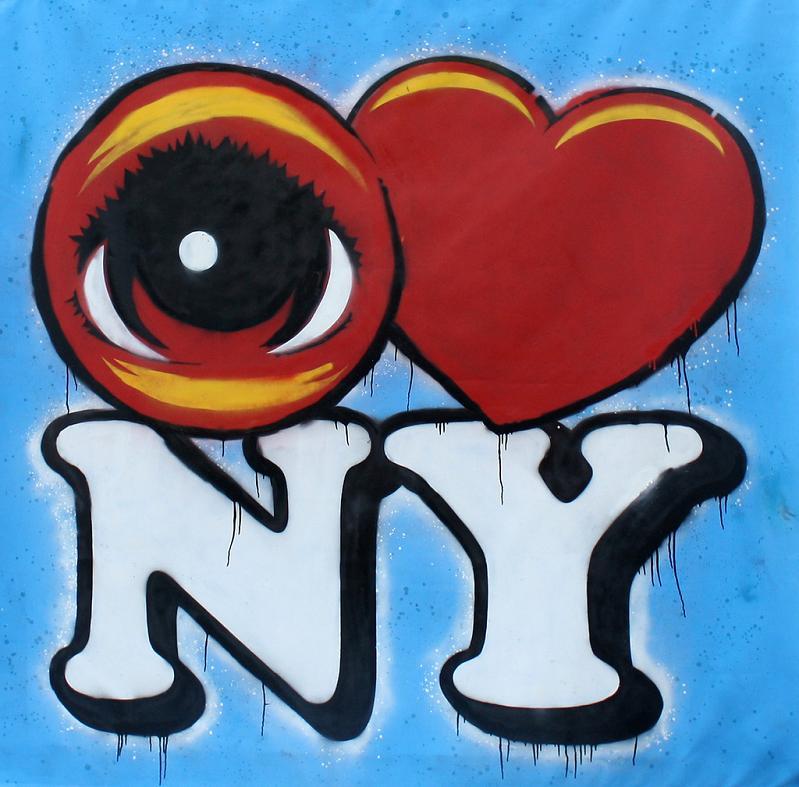 eye heart nyc STREET ART: Eye Heart NYC by Peat Wollaeger [21 pics]