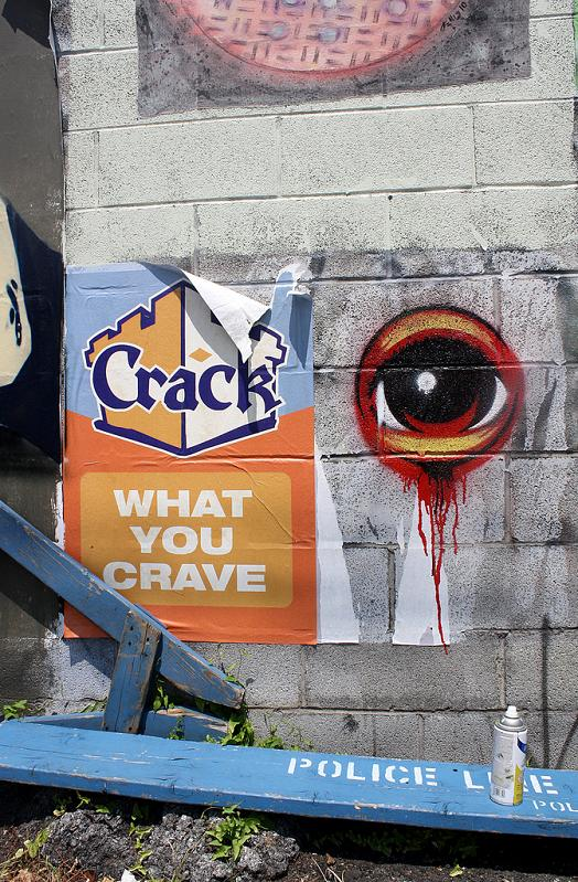 eyeball street art stensoul STREET ART: Eye Heart NYC by Peat Wollaeger [21 pics]