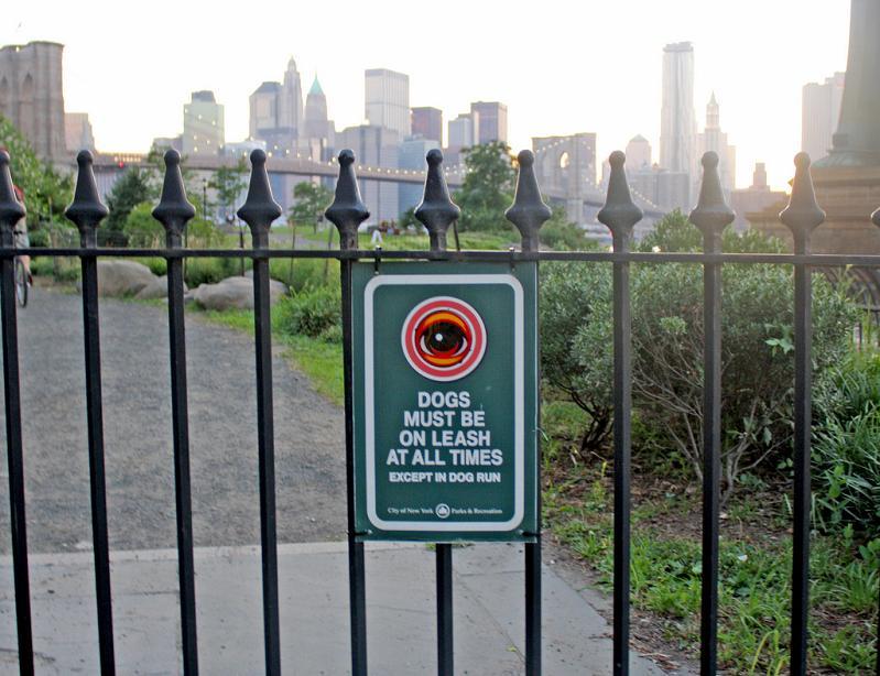 eyeballs in nyc STREET ART: Eye Heart NYC by Peat Wollaeger [21 pics]