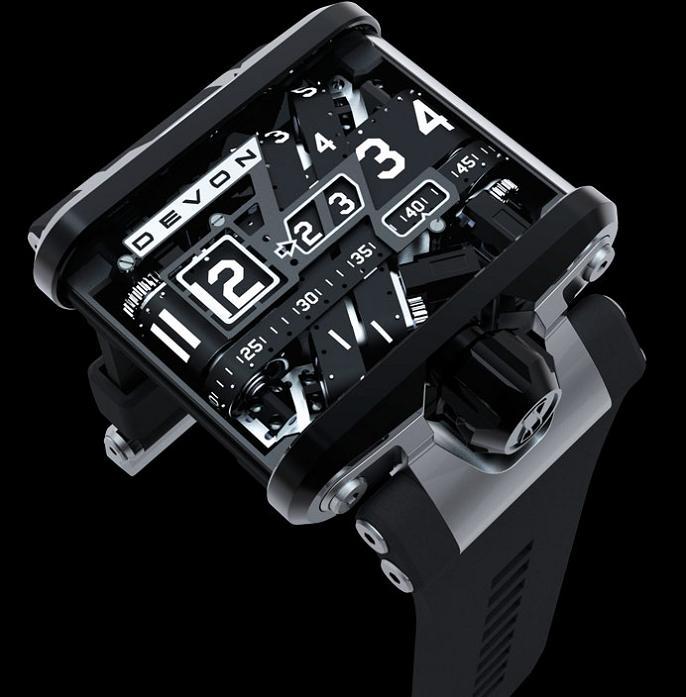 filmstrip watch A Watch Like Youve Never Seen: Tread 1 by Devon