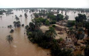 flooding in pakistan aerial view flooding in pakistan aerial view