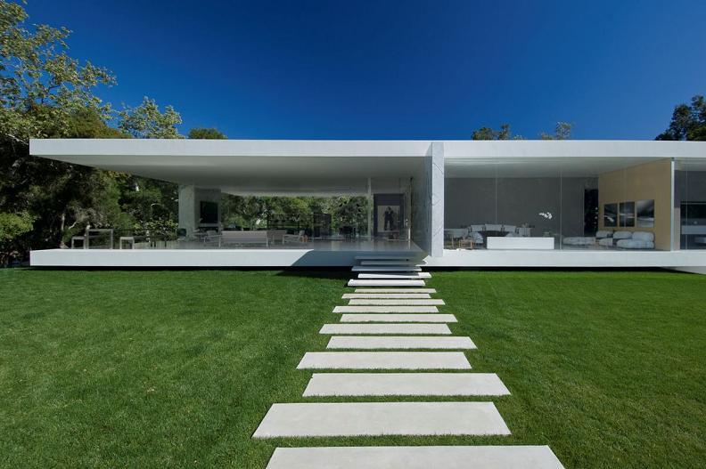 glass pavilion montecito california Mr. Hermanns Opus: The Glass Pavilion in Montecito, California