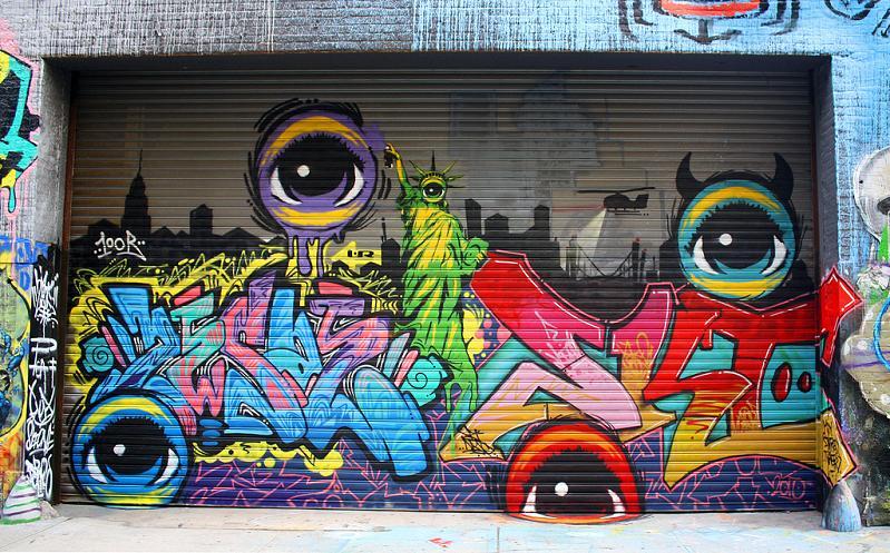 graffiti-street-art-mural-eyeballs-peat-wollaeger