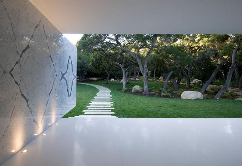 homes in montecito california Mr. Hermanns Opus: The Glass Pavilion in Montecito, California