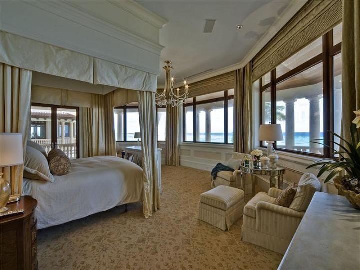 incredible view from bedroom The $60 Million Mansion on the Ocean: Castillo Caribe, Cayman Islands