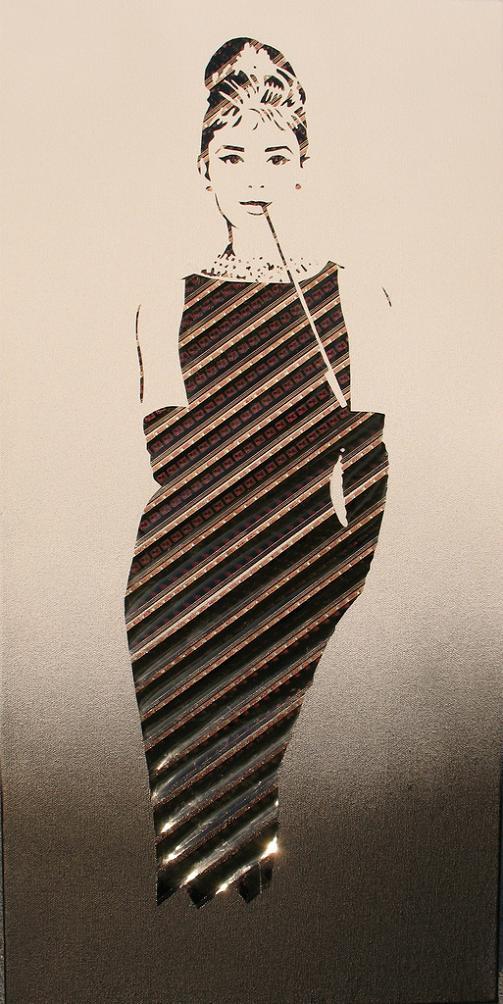 iri5 erika iris simmons Unbelievable Tape Art by Erika Iris Simmons [15 Pics]