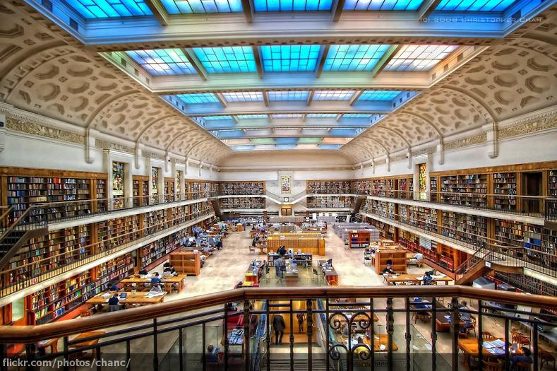 mitchell library sydney 15 Incredible Libraries Around the World