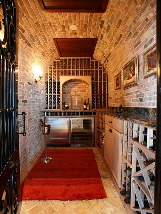 private wine cellar The $60 Million Mansion on the Ocean: Castillo Caribe, Cayman Islands
