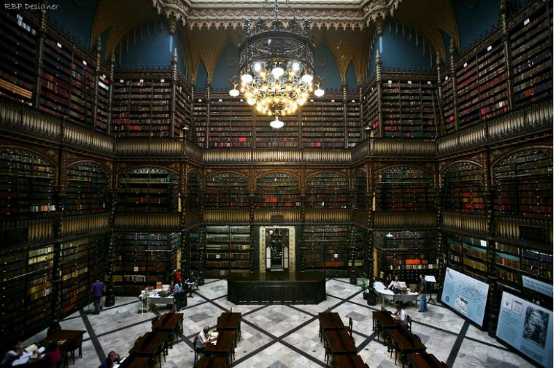 bibliotecas enormes