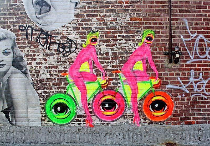 stensoul eyez nyc STREET ART: Eye Heart NYC by Peat Wollaeger [21 pics]