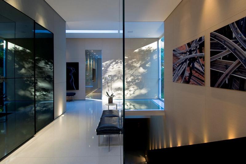 steve hermann architect Mr. Hermanns Opus: The Glass Pavilion in Montecito, California