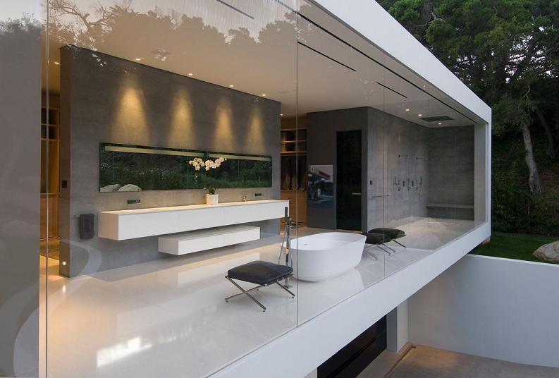 steve hermanns glass pavilion Mr. Hermanns Opus: The Glass Pavilion in Montecito, California