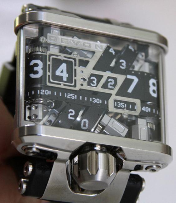tread1 watch by devon A Watch Like Youve Never Seen: Tread 1 by Devon