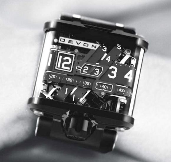 watch with tread belts all visible A Watch Like Youve Never Seen: Tread 1 by Devon